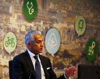 Javier Palomarez, president and CEO of the U.S. Hispanic Chamber of Commerce, resigned from the president's National Diversity Council over the DACA decision.(File Photo/Staff )