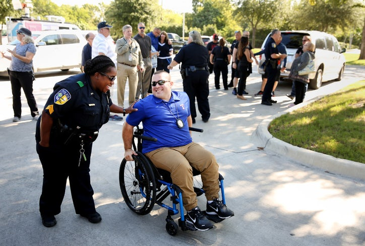 Toyota Of Rockwall >> Paralyzed DART detective takes the wheel, reclaims his independence with custom car | DART ...