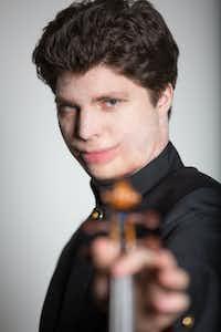 Violinist Augustin Hadelich(Rosalie O'Connor)