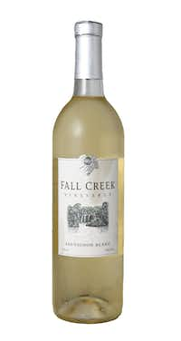 Fall Creek Vineyards Sauvignon Blanc 2016(Rose Baca/Staff Photographer)