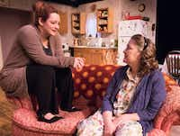 Jessica Cavanagh (left) in the role of Jesse Cates and Amber Devlin, in the role of Mama (Thelma Cates) were honored for outstanding performance by an ensemble cast for their work in &nbsp;Marsha Norman's &nbsp;<i>'night, Mothe</i>r, &nbsp;presented by &nbsp;Echo Theatre at the Bath House Cultural Center.&nbsp;(Robert W. Hart/Special Contributor)