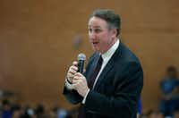 Dr. David Vroonland, superintendent of Mesquite ISD. (Jae S. Lee/The Dallas Morning News)(Jae S. Lee/Staff Photographer)