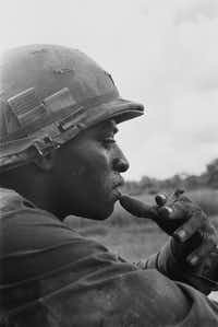 A soldier of the 25th Infantry Division, circa 1969.(Charles O. Haughey/<i>The Vietnam War</i>)