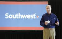 Southwest Airlines CEO Gary Kelly said the two hurricanes are reach expected to cost the carrier between $40 million and $60 million. (Steve Gonzales/Houston Chronicle)