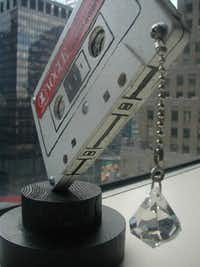 This Tom Sachs-designed trophy was once used for the Vogue/VH1 awards.(VH-1)