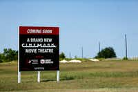 A new Cinemark movie theatre is slated too be built at the intersection of President George Bush Turnpike (westbound service road) and Holford Rd. in Garland, Texas Wednesday, September 13, 2017. (Tom Fox/The Dallas Morning News)(Tom Fox/Staff Photographer)