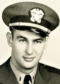 Charles L. Wilcox, retired Navy pilot