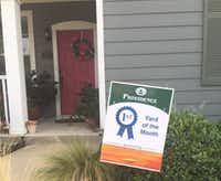 "Debbie Hays bought her first home in Providence Village three years ago, and just this month won her neighborhood's ""Yard of the Month"" award. She counts on the mortgage interest deduction as a major source of savings.(Courtesy of Debbie Hays)"