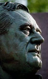 A statue of Franklin D. Roosevelt in Washington, D.C.(File Photo/The Associated Press)