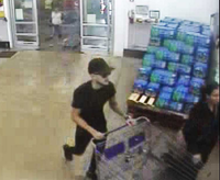 Store video footage released by police show individuals wanted in connection with the theft of 78 cellphones from Sam's Club in Tyler.<br>(Facebook -- Tyler Police Department<br>/Tyler Police Department<br>)