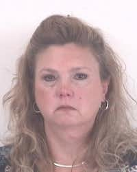 Shelly Ables was indicted after being accused of stealing more than $20,000 from Tarrant County court(Tarrant County Sheriff's Department)