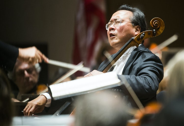 Yo-Yo Ma drew a crowd, but the real stars of the DSO gala were the