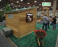 The Living Earth booth at the Texas Nursery and Landscape Association expo(Louis DeLuca/Staff Photographer)