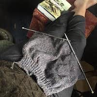Finishing a sweater that her mother began knitting for her brother helps Lisa Markley work through her grief after losing both of them. (Lisa Markley/Special Contributor)