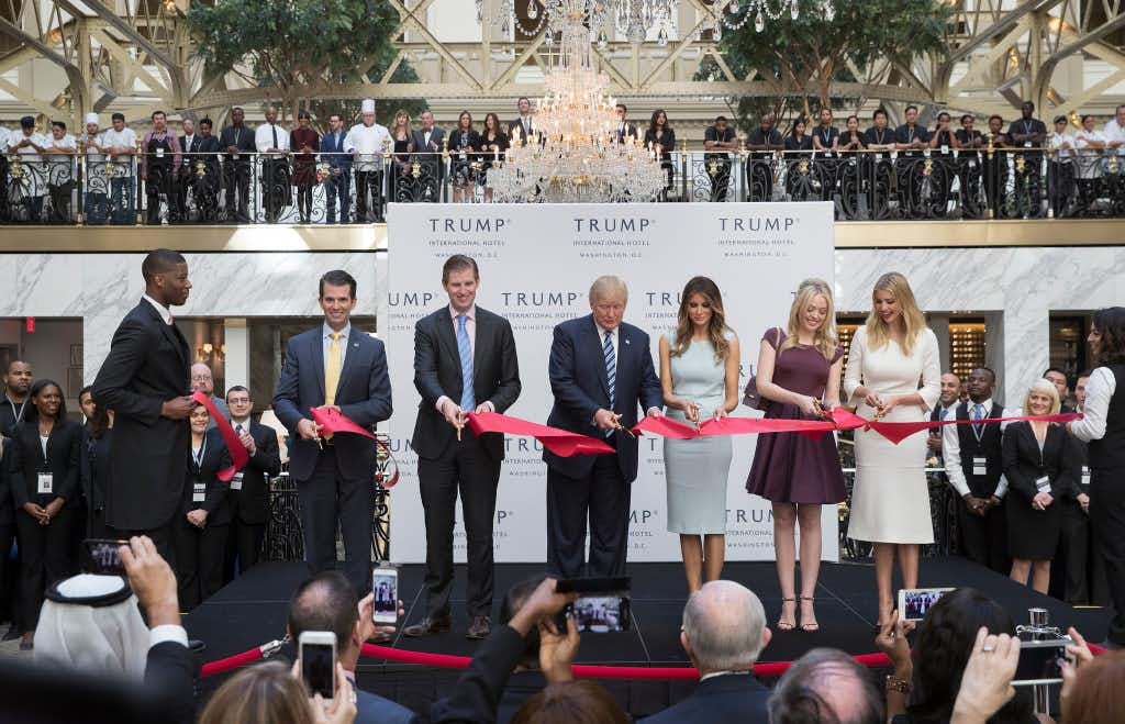 Texas GOPers spending campaign cash at Trump's D.C. hotel not illegal, but 'not ideal,' ethics expert says