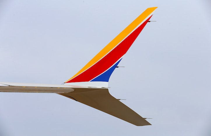 As southwest airlines adds the 737 max to the fleet a new chapter the winglets of southwest airlines new plane the 737 max at headquarters in dallas tuesday sept 12 2017 jae s leethe dallas morning news malvernweather Image collections