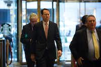 Randall Stephenson, chief executive of AT&T, said he would give up some expensing perks in exchange for a 20 percent corporate rate. (Kevin Hagen/The New York Times)
