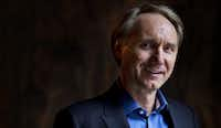 Dan Brown poses in  2014.  (Jerry Lampen/Agence France-Presse)
