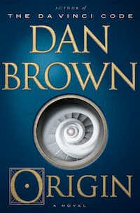 <i>Origin</i>, by Dan Brown.