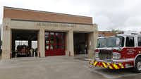 The Arlington Fire Department has about 320 firefighters on staff, all but about 15 are members of the Arlington Professional Fire Fighters Association, APFF President David Crow said.(David Woo/Staff Photographer)