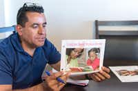 Rosendo Gil, a family support worker with the Imperial County Home Visiting Program, visits families in order to help new parents raise healthy children and overcome poverty, substance abuse, depression and domestic violence. (Heidi de Marco/TNS)