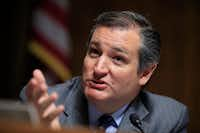 Sen. Ted Cruz, R-Texas, has pushed for a flat tax for individuals. But he's said he's OK with three brackets of lower rates.(Manuel Balce Ceneta/The Associated Press)