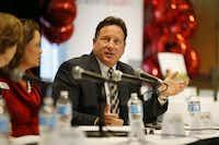 McKinney ISD Superintendent Rick McDaniel(Andy Jacobsohn/Staff Photographer)