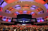 The McKinney Boyd High School commencement ceremony was held at Prestonwood Baptist Church in Plano on June 3, 2016.(Jae S. Lee/Staff Photographer)