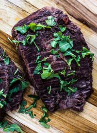 Slow Cooker Red Wine Flank Steak (Rebecca White/Special Contributor)