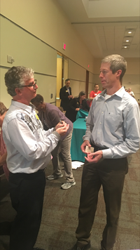 """<p><span style=""""font-size: 1em; background-color: transparent;"""">Fred Anders (right) runs TexasPowerGuide.com. He urged The Watchdog (left) to give an update to our popular electricity buying guide to show the shenanigans in the retail electricity industry. Here it is.</span></p>"""