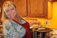 Author Cheryl Alters Jamison in her Santa Fe kitchen. (Cathy Barber/Special Contributor)