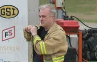 Peter Hacking was a captain in the Nevada Fire Department where he volunteered.(Courtesy)
