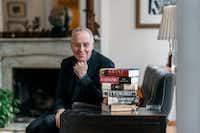 Ron Chernow in his Brooklyn home. (Michael Rubenstein/For The Washington Post)