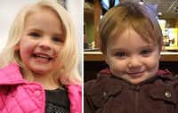 Four-year-old Ellie Bryant and 22-month-old Grayson Hacking were killed in the collision on March 31, 2016.(Courtesy)