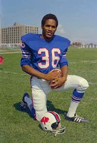 O.J. Simpson in 1969 with the Buffalo Bills(AP)