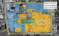 The larger Midtown District in North Dallas. (Beck Ventures)