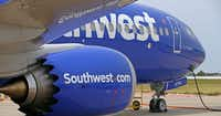 <p><br></p>(<p></p><p>Southwest Airlines' new plane, the 737 Max, at headquarters in Dallas, Tuesday, Sept. 12, 2017. (Jae S. Lee/The Dallas Morning News)</p><p></p>)