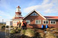 Cape Horn Island at the tip of South America marks where the Pacific and Atlantic oceans meet, and if the seas are not too rough, Stella Australis can go there so guests may visit its chapel and lighthouse.(Janis Turk/Special Contributor)