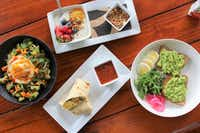 Snappy Salads breakfast offerings — salad, avocado toast, and more.(Snappy Salads)