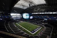 An overall view of AT&T Stadium in Arlington.(File Photo /Staff)