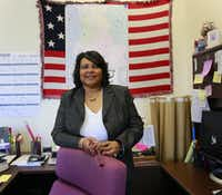 Elections Administrator Toni Pippins-Poole  was photographed in 2011. (Mona Reeder/<p>The Dallas Morning News</p>)