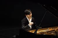 Van Cliburn International Piano Competition winner Yekwon Sunwoo performs at the Bass Performance Hall in Fort Worth Tuesday, Oct. 3, 2017.  (Lawrence Jenkins/Special Contributor)