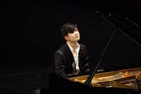 Van Cliburn International Piano Competition winner Yekwon Sunwoo performs at the Bass Performance Hall in Fort Worth on Tuesday, Oct. 3, 2017.  (Lawrence Jenkins/Special Contributor)