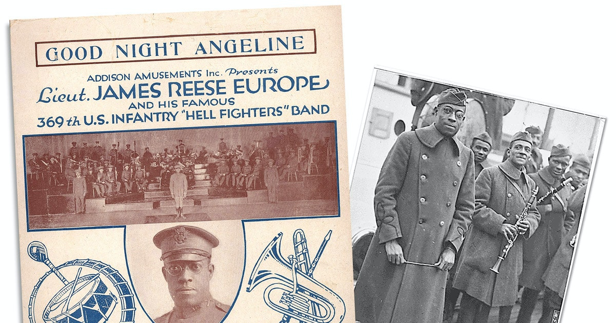 How the WWI Harlem Hellfighters fought the Germans and introduced jazz to the French...