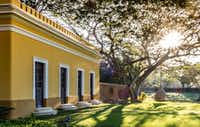 """<p>18th century structures receive new lives at Chabl<span style=""""font-size: 1em; background-color: transparent;"""">é</span><span style=""""font-size: 1em; background-color: transparent;"""">Resort near Merida.</span></p>(Michael Hiller/Special Contributor)"""
