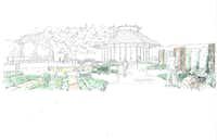 The Leach Teaching Gardens at Texas A&M University will include an herb garden( Texas A&M University )