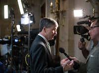 Rep. Jeb Hensarling, R-Dallas, chairman of the House Financial Services Committee, has long been a deficit hawk. (J. Scott Applewhite/The Associated Press)