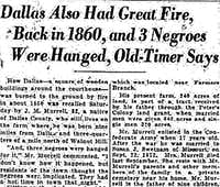 From The Dallas Morning News, July 14, 1929