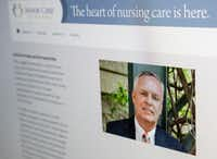 Andrew Kerr, president and chief financial officer of Dallas-based Senior Care Centers, is shown on the company's website.(Ron Baselice/Staff Photographer)