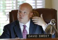 Rockwall County Judge David Sweet said he will support the commissioners' plan for a jail upgrade even though his reelection bid is on the same November 2018 ballot.(David Woo/Staff Photographer)